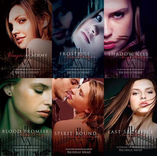 Vampire Academy Covers
